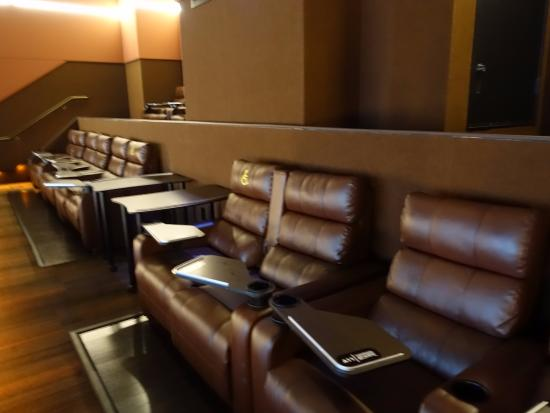Cinemark Playa Vista And XD Comfortable Seats The Row In Back Was Actually
