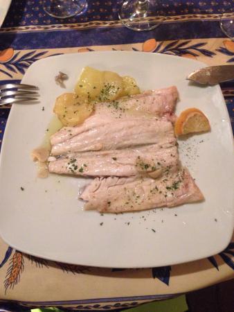 Restaurante El Txoko: Lubina al horno