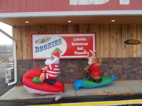 Blountville, TN: Boonies Restaurant