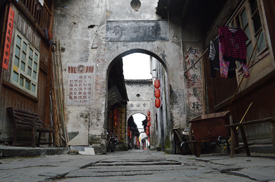 Hongjiang, Китай: Una de las calles principales