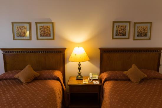 Granados Park Hotel: Doble cama matrimonial