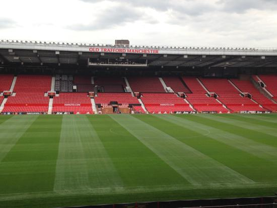Old Trafford: View of pitch during Tour