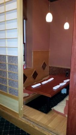 East Setauket, نيويورك: Private tables!