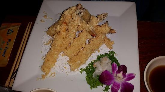 East Setauket, نيويورك: Shrimp tempura