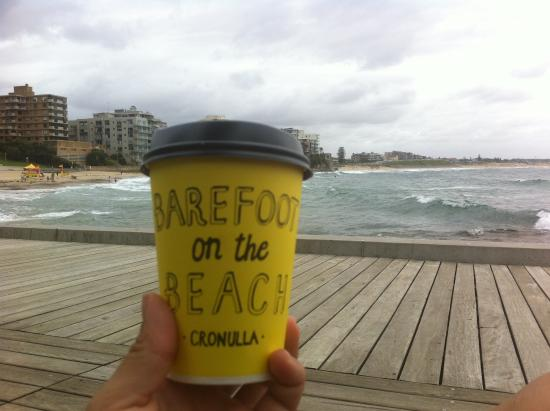 Barefoot on the Beach: Awesome Coffee Awesome View