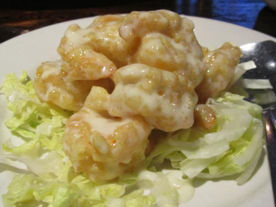 Pig Heaven Restaurant: Grand Marnier Shrimp