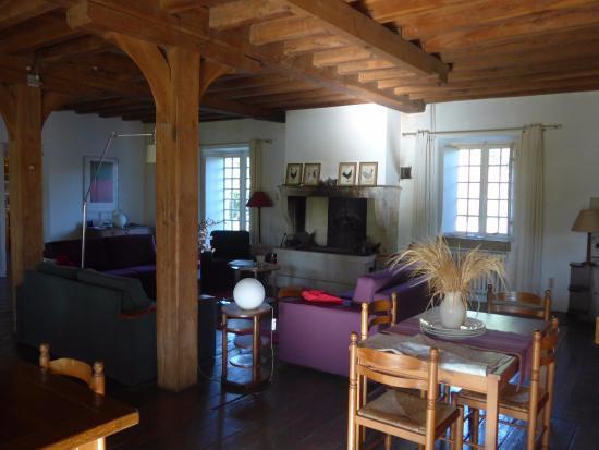Le Moulin de Poilly-sur-Serein : Inside