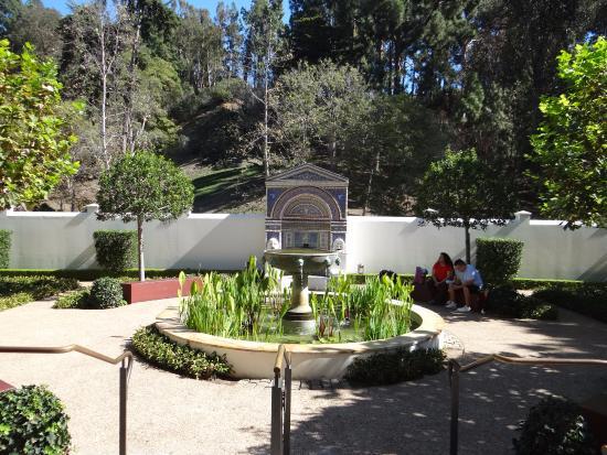 Courtyard Picture Of The Getty Villa Malibu Tripadvisor