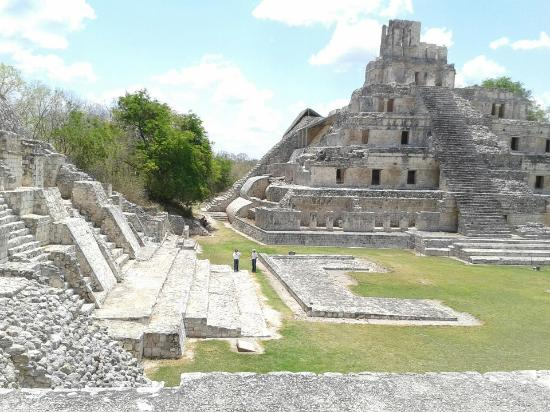 Campeche, Mexique : Edzna