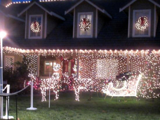 Willow Glen Neighborhood, Christmas Decorations 2015, San Jose, Ca