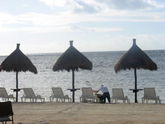 Hotel Arenas: Vista de playa El Hotelito