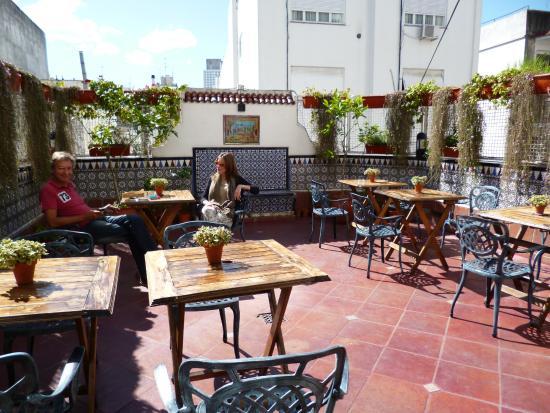The 5th Floor: Sunny terrace