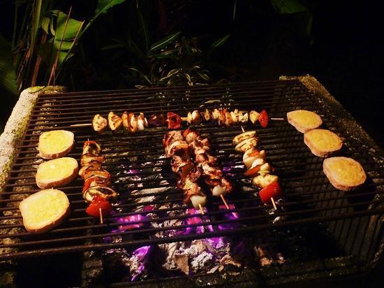 Cabinas Yamann: Grill