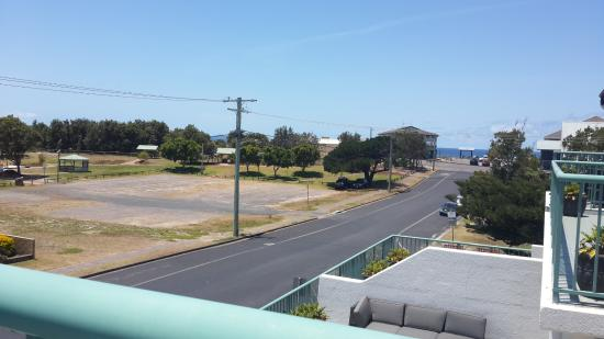 Hawks Nest, Australien: View from the balcony
