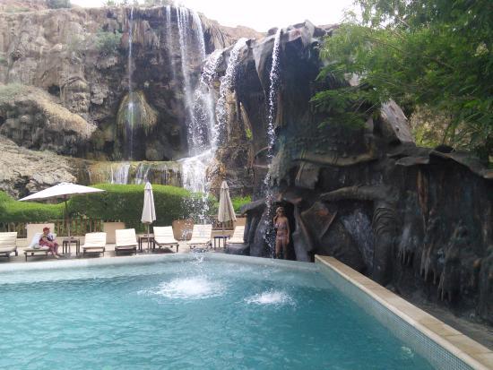Ma'In Hot Springs: Бассеин