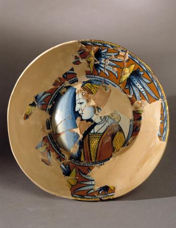 Museo Civico Archeologico B. Greco: piatto di deruta