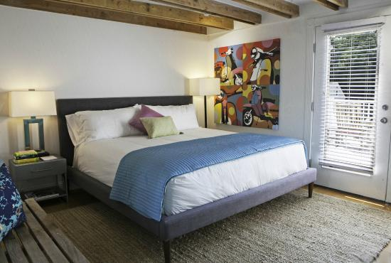 Greenport, estado de Nueva York: Room 1 - king bed with Private Deck