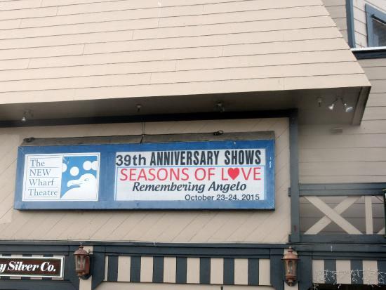 Bruce Ariss Wharf Theater, Fishermans Wharf, Monterey, CA