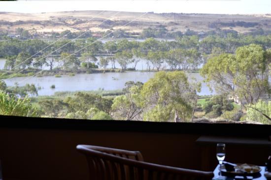 Mannum, Australia: View from enclosed deck