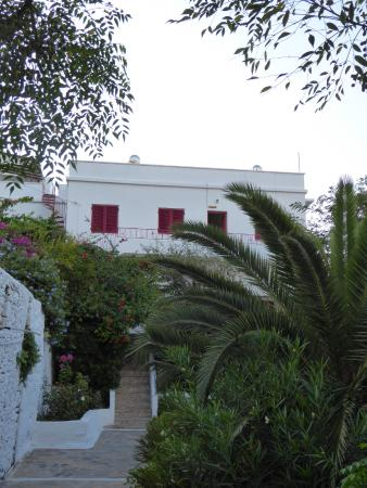 Anna Studios Amorgos: the main building