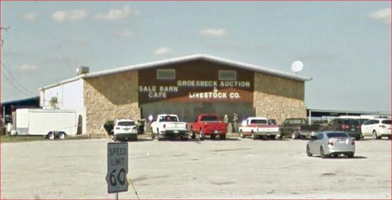 Groesbeck, TX: Billy B's Sale Barn Cafe