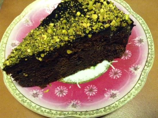 Goodness Gracious Cafe: Lavender Chocolate Cake