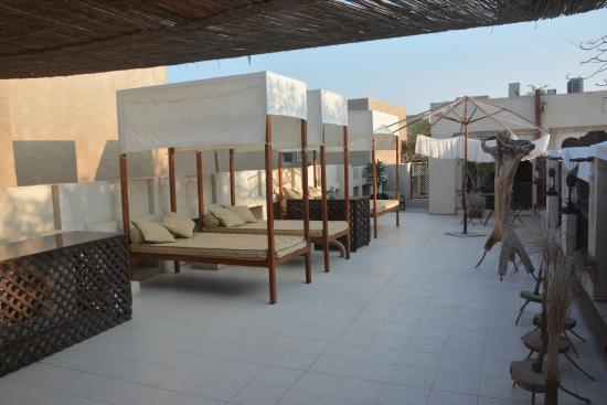 Terrasse au premier tage picture of xva art hotel for Xva hotel dubai