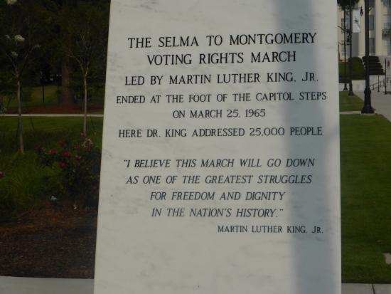 Civil Rights Memorial: Written in stone
