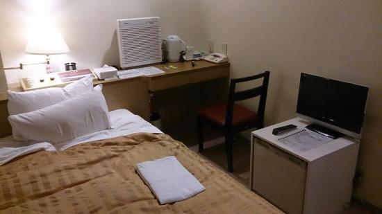 Hotel New Shoei : 設備はそろってます。
