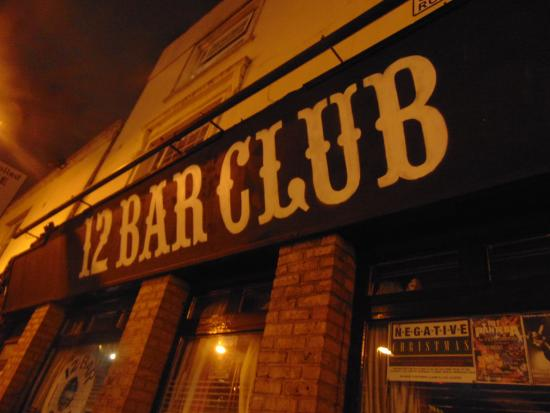 12 Bar Club : Front entrance