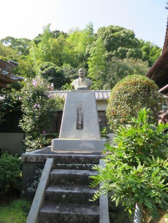 Tesshuji Temple : 銅像