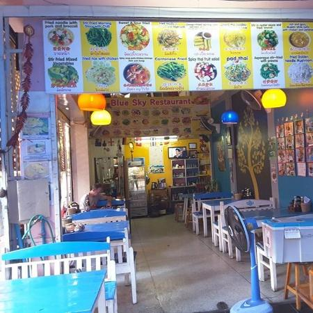 New look to the cafe picture of blue sky restaurant chiang mai