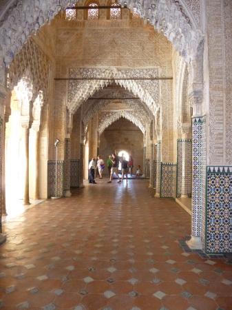 Sala de los reyes palacio de los leones palacio nazaries for Sala 0 palacio de la prensa
