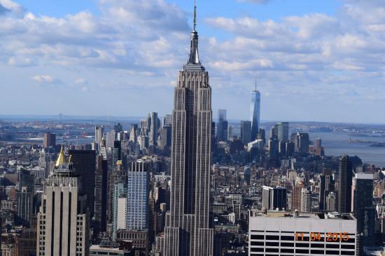 Esb from rockefeller center photo de empire state for 10 rockefeller plaza 4th floor new york ny 10020