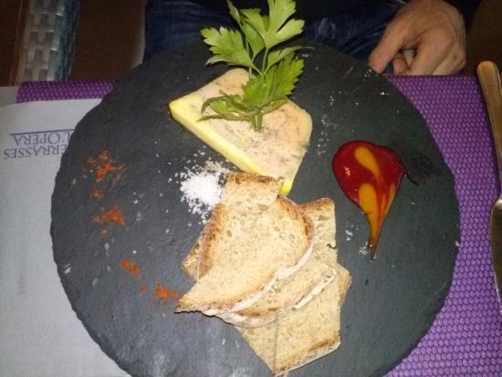 Sur le Chemin des Bories: Foie gras