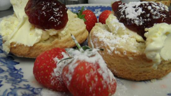 The Buttery: delicious scones