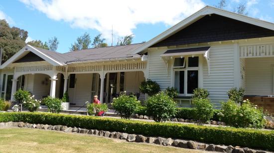 Hawarden, New Zealand: the homestead