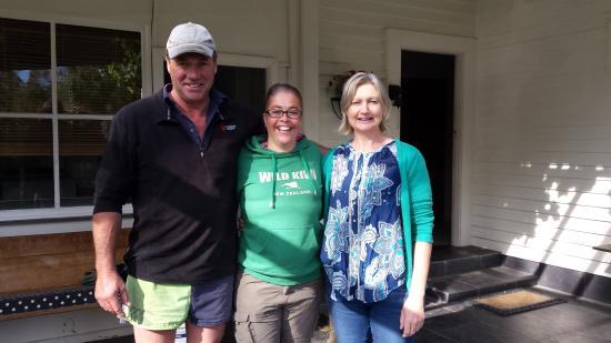 Hawarden, Новая Зеландия: Karin and Bruce