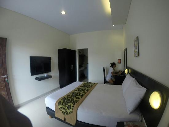 Surya Inn: The Surya Bali Homestay...only IDR 200,000 nett/night...room only...