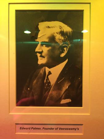 The Founder Edward Palmer