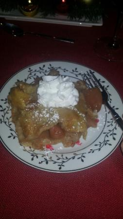Hume, VA: Apple pie by Randy for dinner dessert