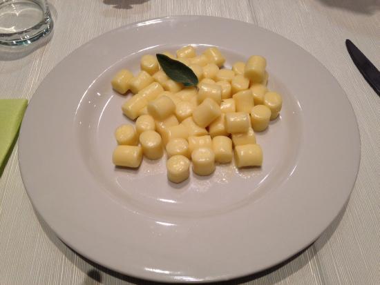 Marmirolo, Italie : Gnocchi di patate