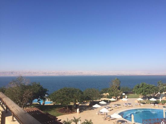 Jordan Valley Marriott Resort & Spa: Dead sea view