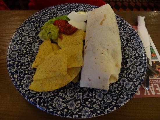Blairgowrie, UK: Burrito