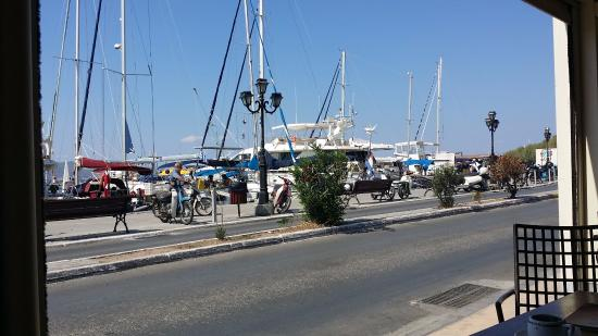 Yacht Club Panagakis: The view