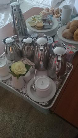 Hotel Laguna Parentium: Room service Breakfast