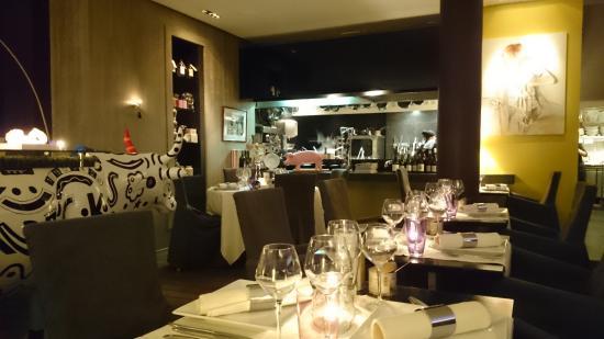 Int rieur du resto fotograf a de l 39 aubergine tilff for Interieur aubergine