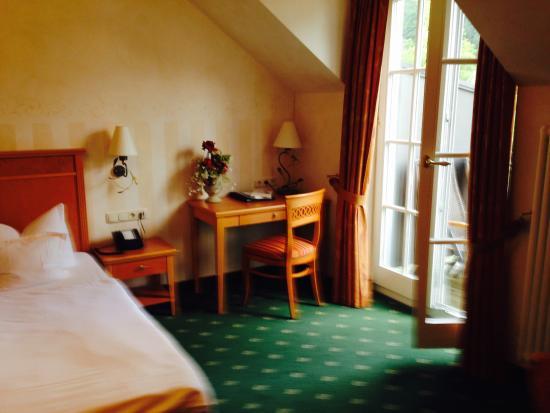 Hotel Molitors Mühle: Teil des geräumigen Doppelzimmers