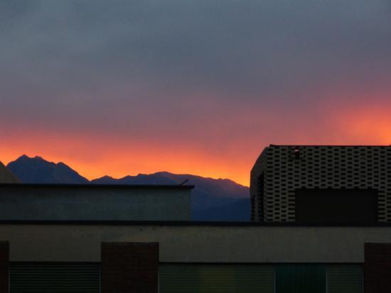 Garni Nessi : sunrise from the room