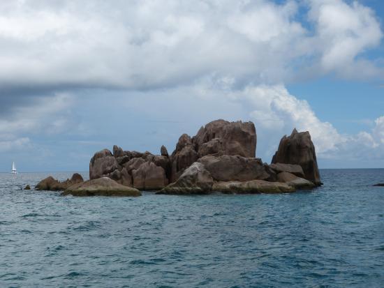 Wyspa Praslin, Seszele: catamaran